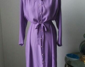 Soft Lavender Lady Dress