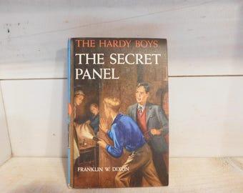 Vintage Hardy Boys Book - The Secret Panel