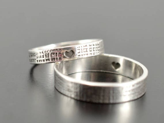 and couple set for rings his yoyoon hers her matching sterling him silver cz