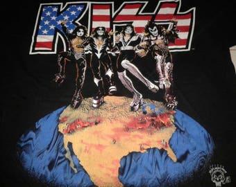 Vintage kiss world tour 96