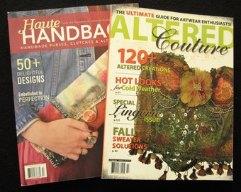 Back Issues ALTERED COUTURE & Haute HANDBAGS Magazines