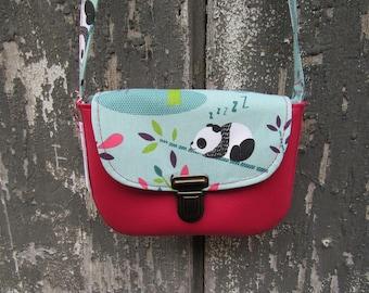 Child 2/8 pink Panda bag