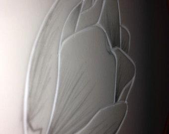 Roverway custom tulip print