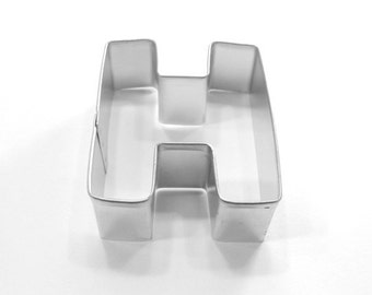 Capital Letter H Cookie Cutter