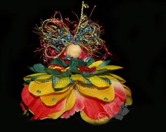 Nova the Flower Petal Faerie, Fairy, OOAK