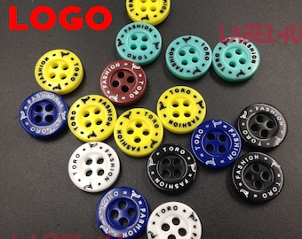 3000 Round 4 Hole Buttons, Sewing buttons 4 Hole buttons, Assorted Color resin button, Round Fasteners Sewing Knitting Buttons