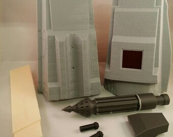 Rav Bralor Fett inspired 3D printed Mandalorian Gauntlets. Large and XL Sizes