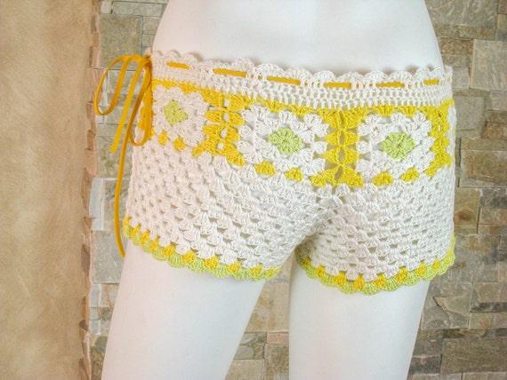 Häkelanl Sommer Shorts Womens beach Shorts Muster häkeln