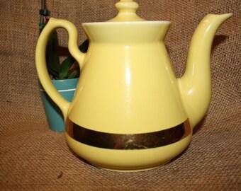 Hall Yellow Tea Pot