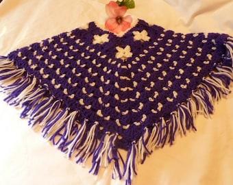 Girls Crochet Poncho     RM-189
