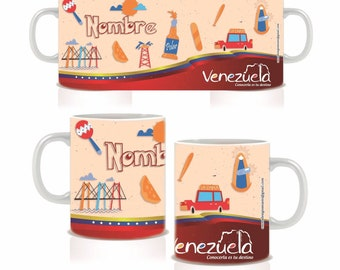 Cup Venezuela with Name