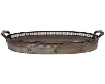 Simpson, Hall, Miller & Co. Oval Tray