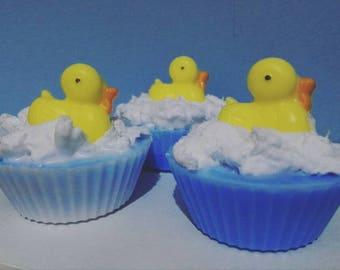 Cupcake Duckling Handmade Soap