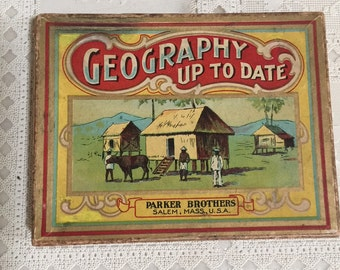 Antique Childs Educational game