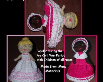 Crocheted Topsy Turvy Doll