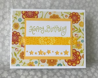 Happy Birthday - Yellow
