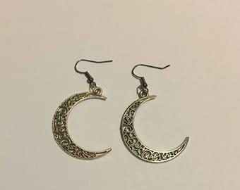 Crescent Moon Earrings For Moon Magic