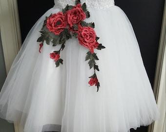 Flower gilrs dress EBD 0010
