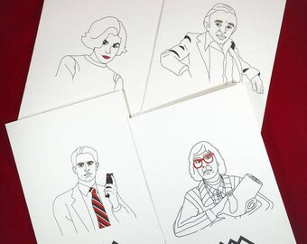 Twin Peaks Greeting Card Set