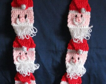 Ho Ho Ho  Darling Santa Scarf for Child Christmas Gift Present Stocking Stuffer Girl Boy