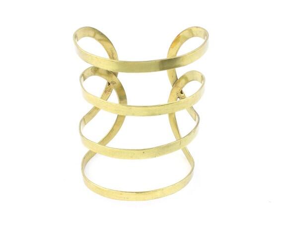 Anna Cuff Bracelet, Minimalist, Arm Cuff, Geometric, Boho, Bohemian, Gypsy, Festival Jewelry, Modern, Contemporary