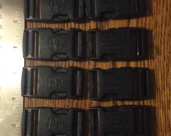 12 Side release buckles
