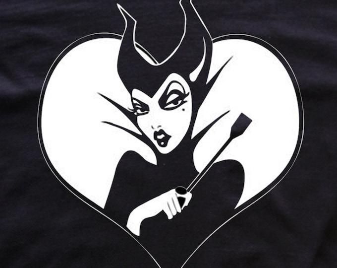 Maleficent goth t-shirt  *Disney fan art * Malefica tees