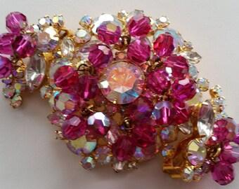 Pow A Punch Of Color JULIANA D&E Dangling Demi Parure ~ Beautiful Authentic Collectible Designer Vintage Jewelry