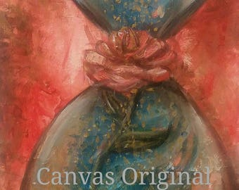 Fullness of Time (original) Acrylic Painting
