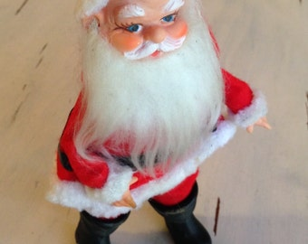 Vintage Rice Bayersdorfer Cloth Santa Japan