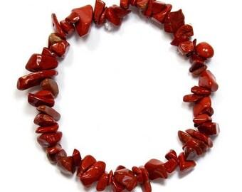 Baroque bracelet red Jasper
