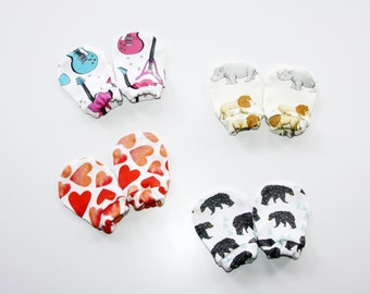 Baby mittens, newborn mittens, newborn gift, boy mittens, girl mittens, organic cotton, baby gift, baby shower, organic baby clothes, baby