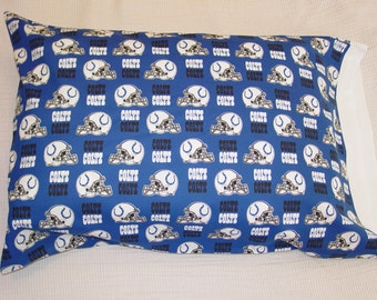 Indianaplis Colts with White Band Pillowcase