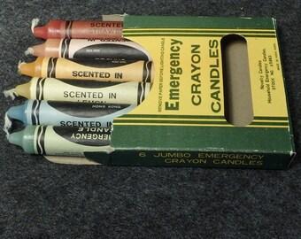 Emergency Jumbo Crayon Candles