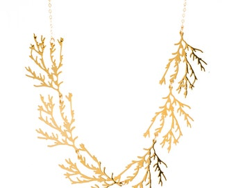 Filament Necklace (gold)