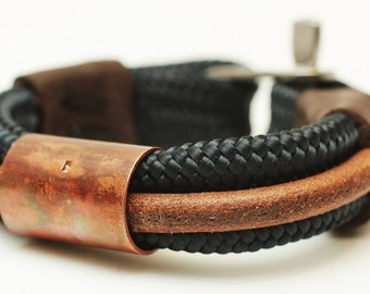 Hygge - Bracelets/100%handmade/leather