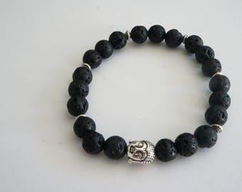Tibetan lava bracelet