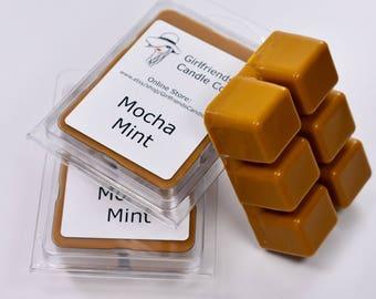 Mocha Mint Scented Wax Melt