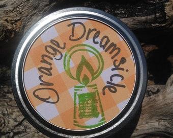 Orange Dreamsicle candle