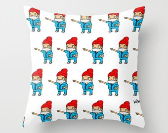 zissou, bill murray, cushion cover, steve zissou, the life aquatic, wes anderson, unique gift, gift for him, gift for her