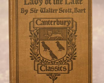 The Lady of the Lake by Sir Walter Scott - 1910