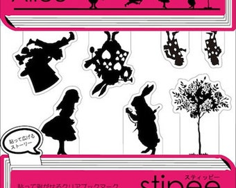 Stipee Index Stickers - Alice in Wonderland