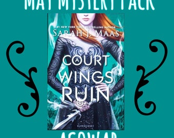 ACOWAR Mystery Pack - Bookish Subscription Box - A Court of Wings and Ruin - A Court of Wings and Ruin Gift - A Court of Thorns and Roses -