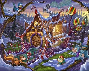 Hansel & Gretel 16oz 100% Soy Candle