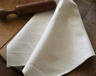 earthen linen and cotton kitchen towel