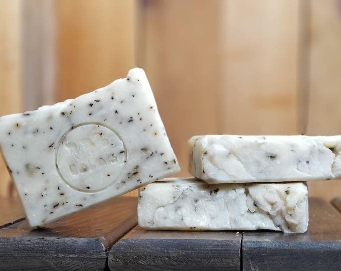 Patty Loves Chuck Soap - Peppermint Handmade, All-Natural, Vegetarian Soap, Vegan Soap, Essential Oil Scented