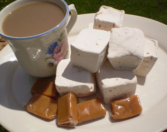 Caramel coffee marshmallows 18 handcrafted gourmet candy