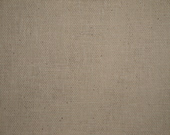 Osnaburg Fabric | Natural Osnaburg Cotton Fabric | Primitive Woven Fabric | Doll Making Fabric