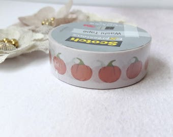 Pumpkins Washi Tape Planner Tape & Paper Craft Supplies