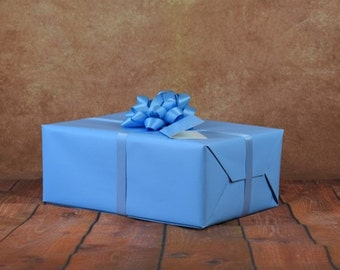 Premium Collection Gift Wrap Kit - Baby Blue